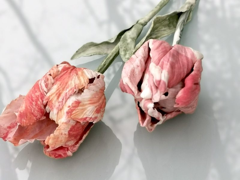 Galerie Oudenhove - Anna Volkova - Tulpen - porselein - unica